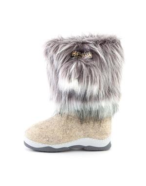 Russian Unty valenki felt boots ''Snowflake''